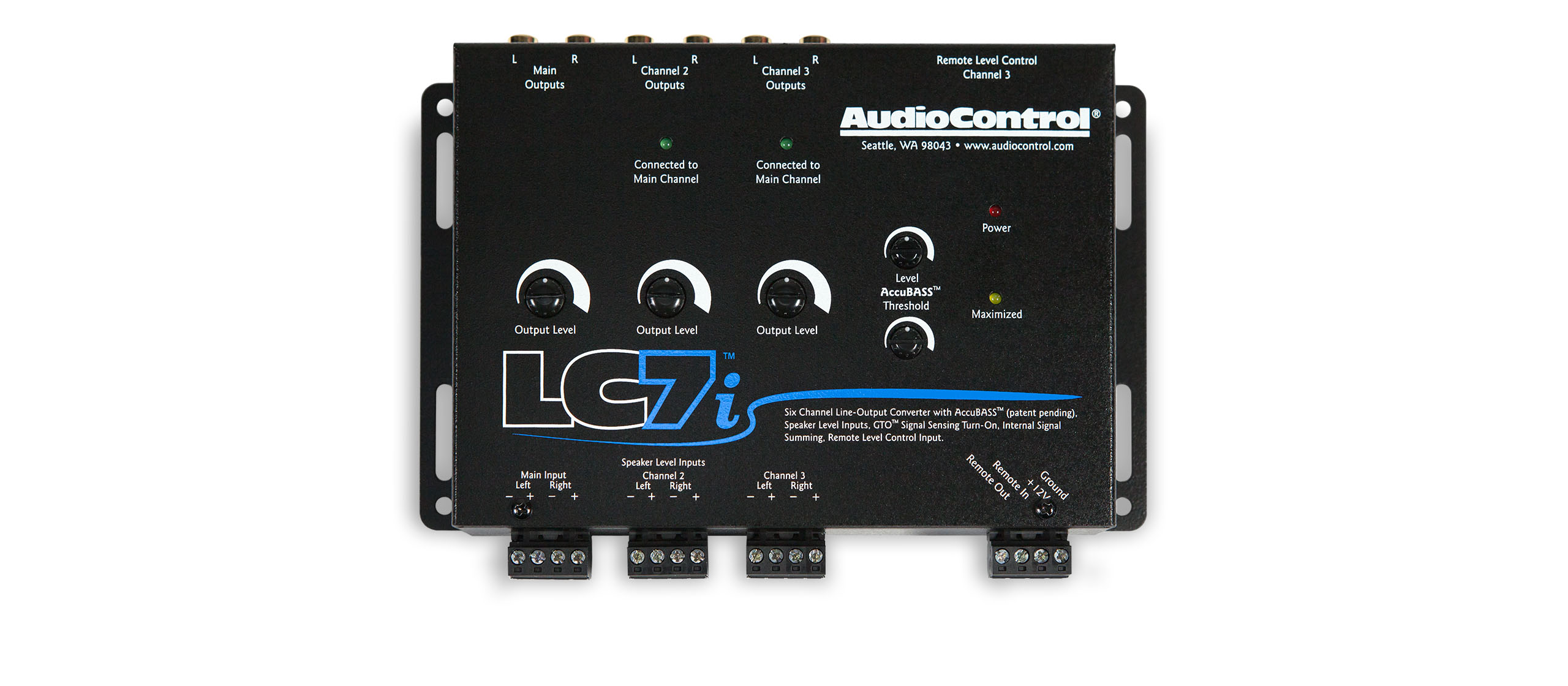 wiring diagram of car stereo start stop lc7i - audiocontrol