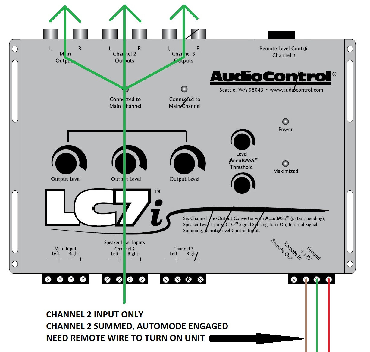 hight resolution of can my multi channel line converter take a single stereo input and distribute it to all outputs