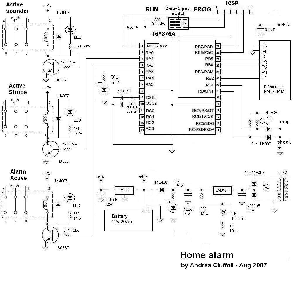 medium resolution of home alarm system wiring diagram