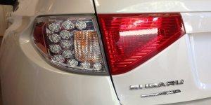 Subaru tail light makeover