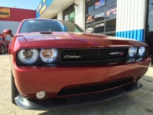2013 Dodge Challenger - Halo Lights