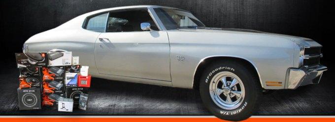 1970 Chevelle Gets Audio Overhaul But Still Looks Stock