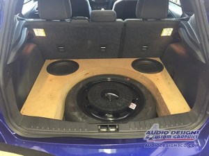 Ford Focus subwoofer enclosure