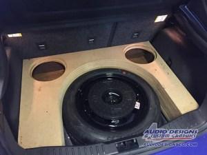 Ford Focus subwoofer enclosure