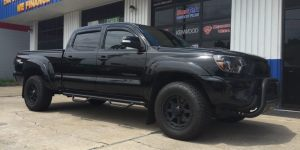 Toyota Tacoma four-door audio