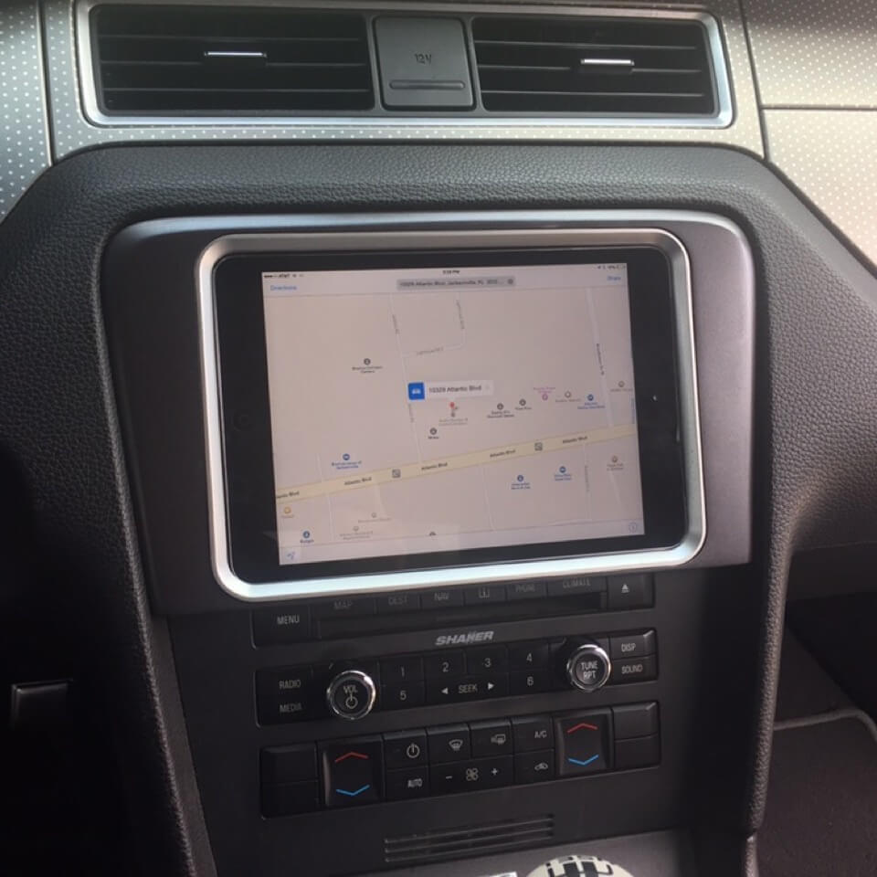 medium resolution of ipad in dash