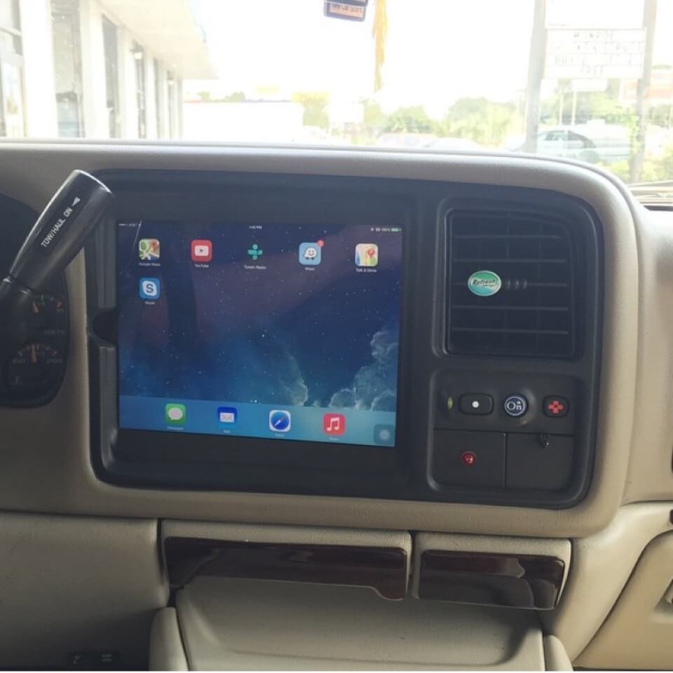 2004 Tahoe Radio Wiring Diagram Premium Ipad In Dash Vehicle Integration