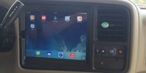 iPad In-Dash
