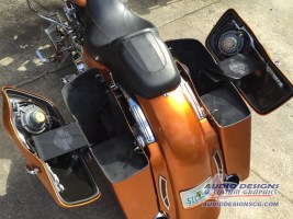Harley Davidson Road Glide Audio