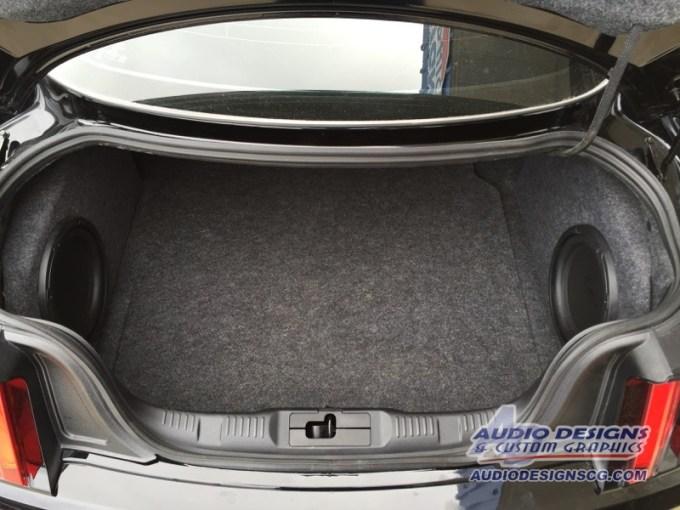 Ford Mustang Enclosures