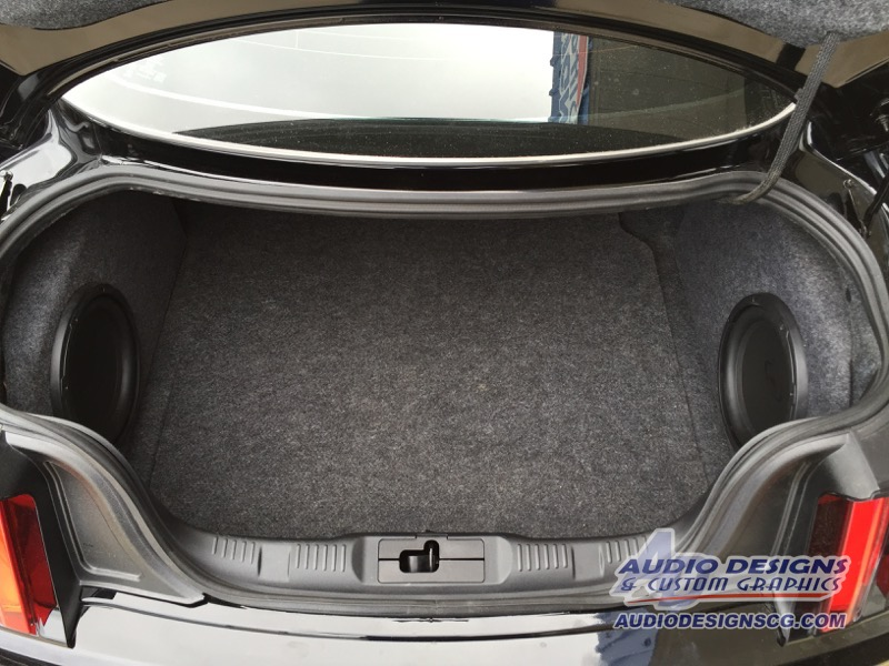Custom Ford Mustang Enclosures Complete Audio Upgrade Package