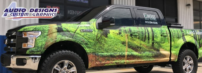 Ford F150 Vehicle Wrap