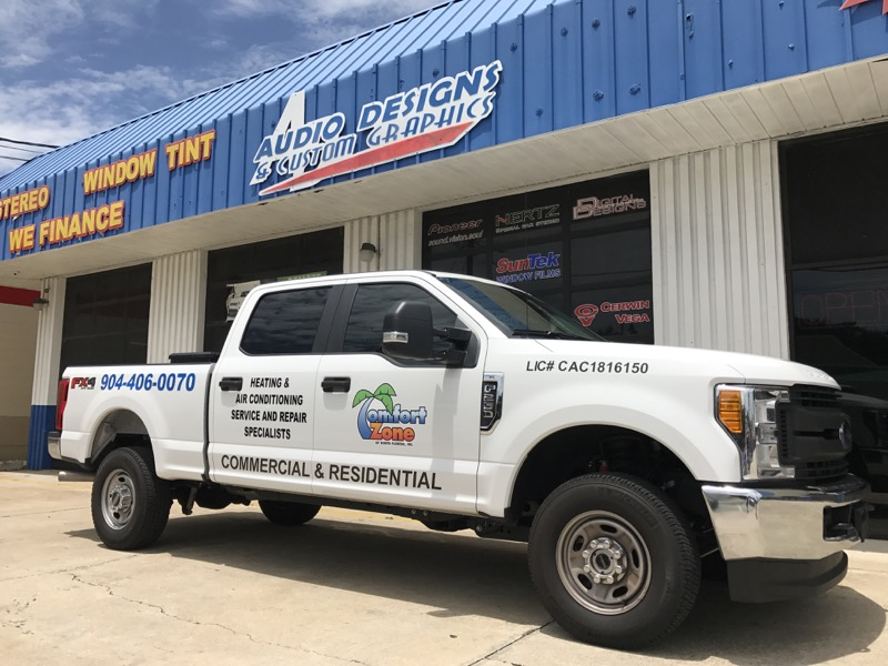 Local Hvac Specialist Gets Ford F250 Wrap For Work Truck