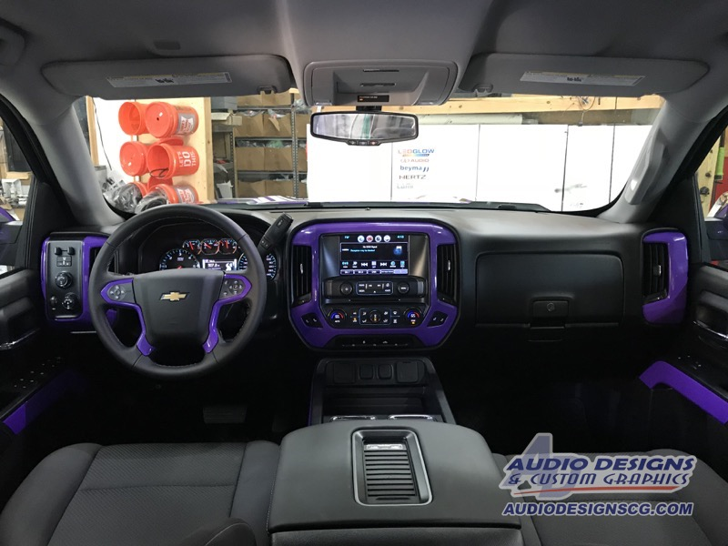 2017 Chevrolet Silverado Vinyl Wrap Car Stereo Audio