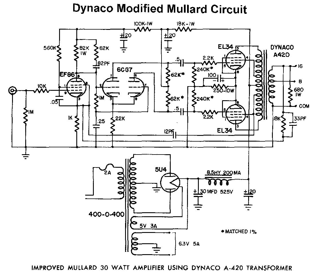 Pp El34 Or 6l6 Circuits