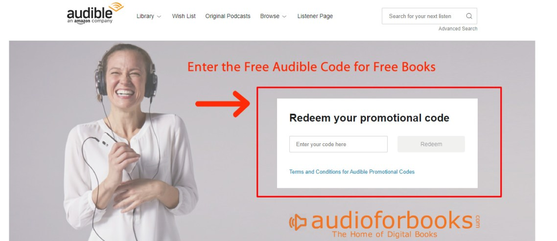 Free Audible Promo Coupon Codes [2020]