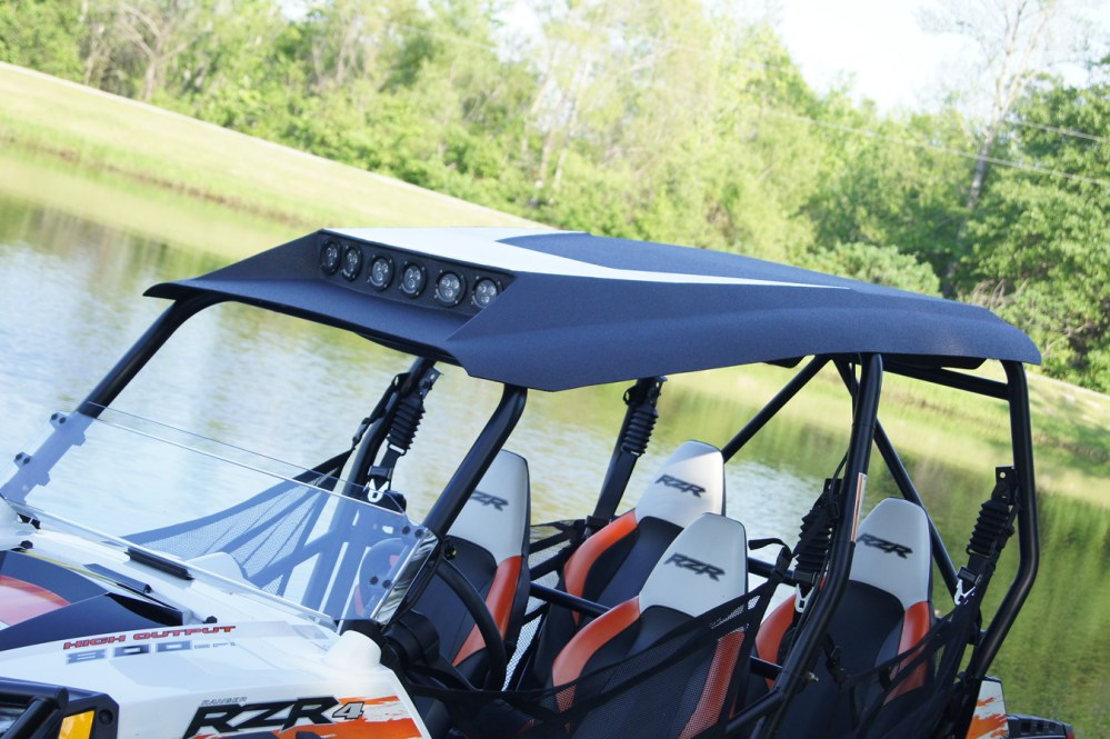 medium resolution of polaris rzr4 800 xp900 roof top stereo systems 2008 2013