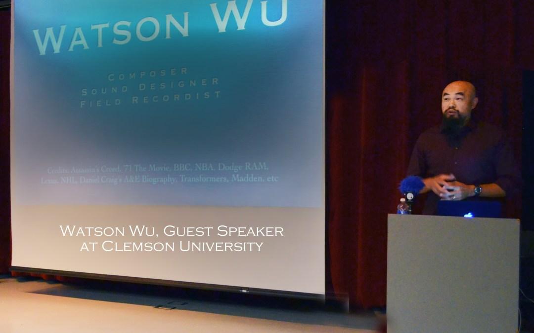 My Clemson University Speech