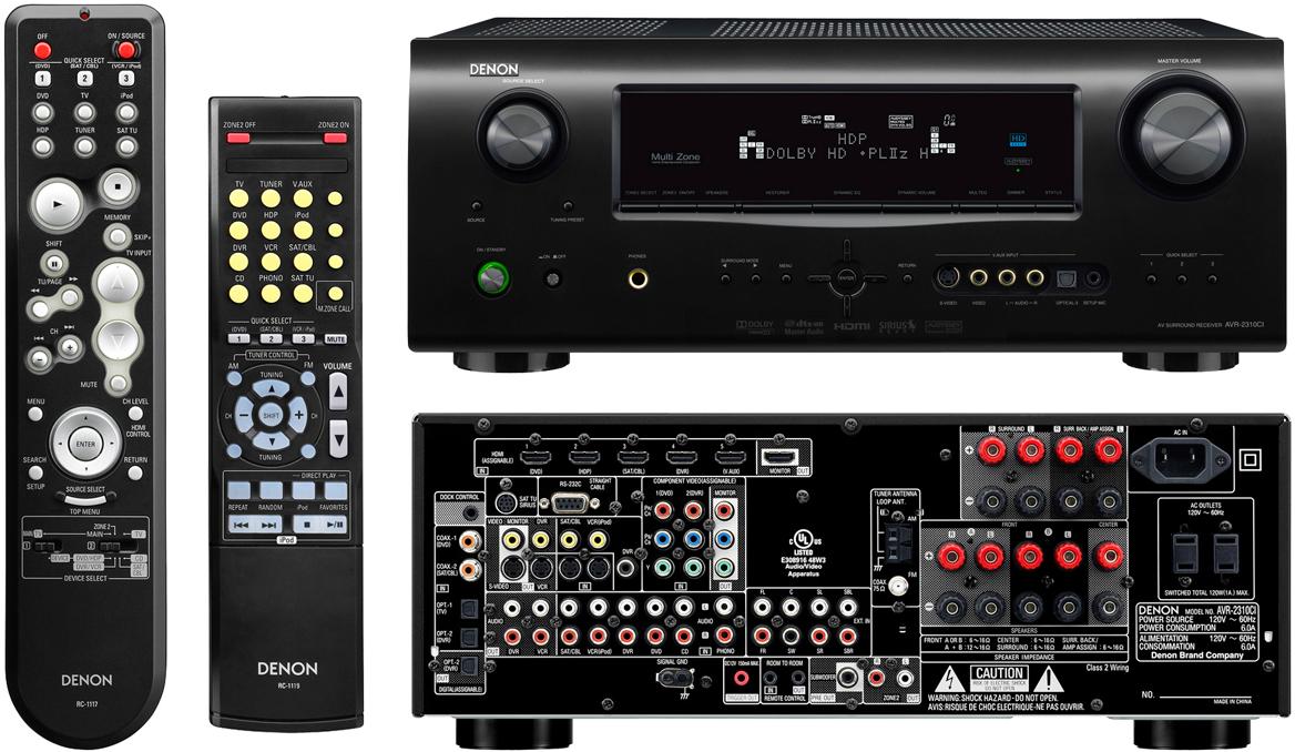 Denon AVR-2310CI