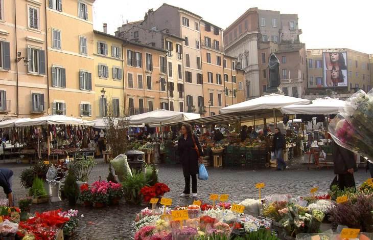 Campo de' Fiori - El corazón de la Roma medieval
