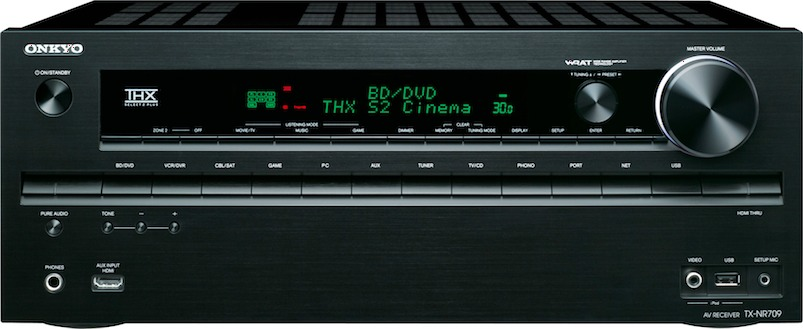 Onkyo TX-NR709 7.2 Channel Networked THX Receiver Preview