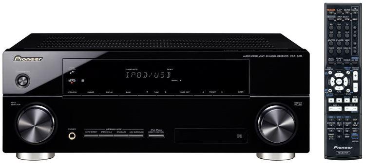 Pioneer VSX820K Receiver Preview  Audioholics