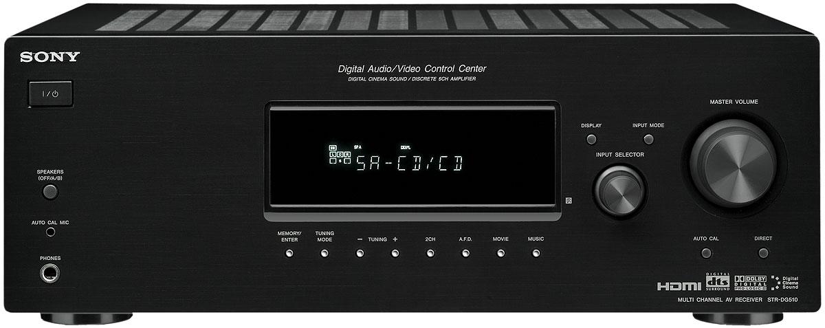 Sony Cd Wiring Diagram Sony Str Dg510 Receiver Overview Audioholics