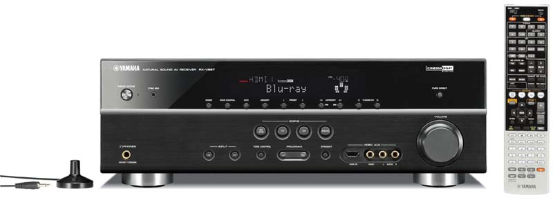 Yamaha RXV667 72 Channel Digital Home Theater Receiver