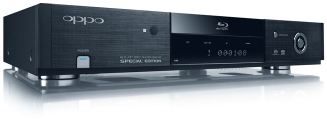 OPPO BDP83SE Special Edition Bluray Disc Player First Look  Audioholics