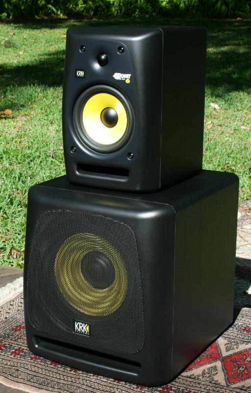 KRK Rokit Powered 610s Speaker System Review Audioholics