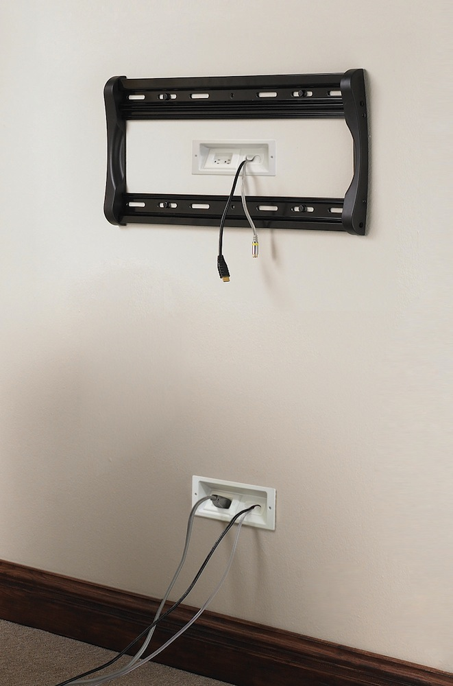 Hiding Wires For Surround Sound And Cable Electrical Diy Chatroom