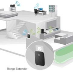 Wireless Extender Diagram Double Pole How To Extend Internet For Full Coverage In Large Homes Re1000
