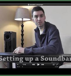 setting up a sound bar [ 1288 x 774 Pixel ]