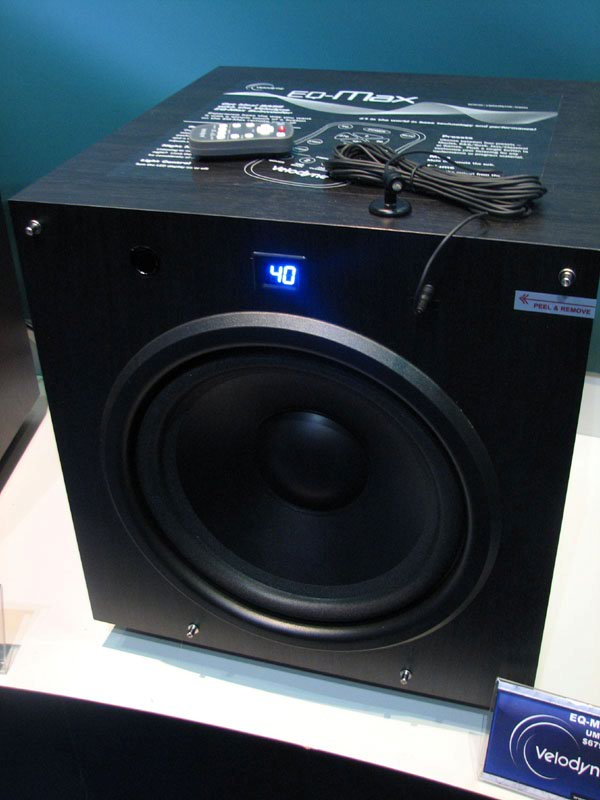 Velodyne EQMax Subwoofers Preview  Audioholics