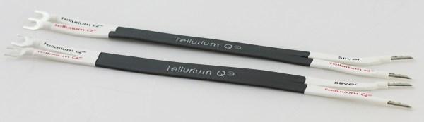 Tellurium Q Silver Mk2 Speaker Cable Links