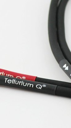 Tellurium Q Black interconnect