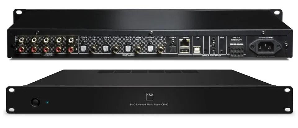 NAD CI 580, Audiologica