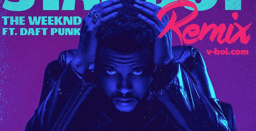 Starboy - The Weeknd Ft. Daft Punk (V-Boi Remix)