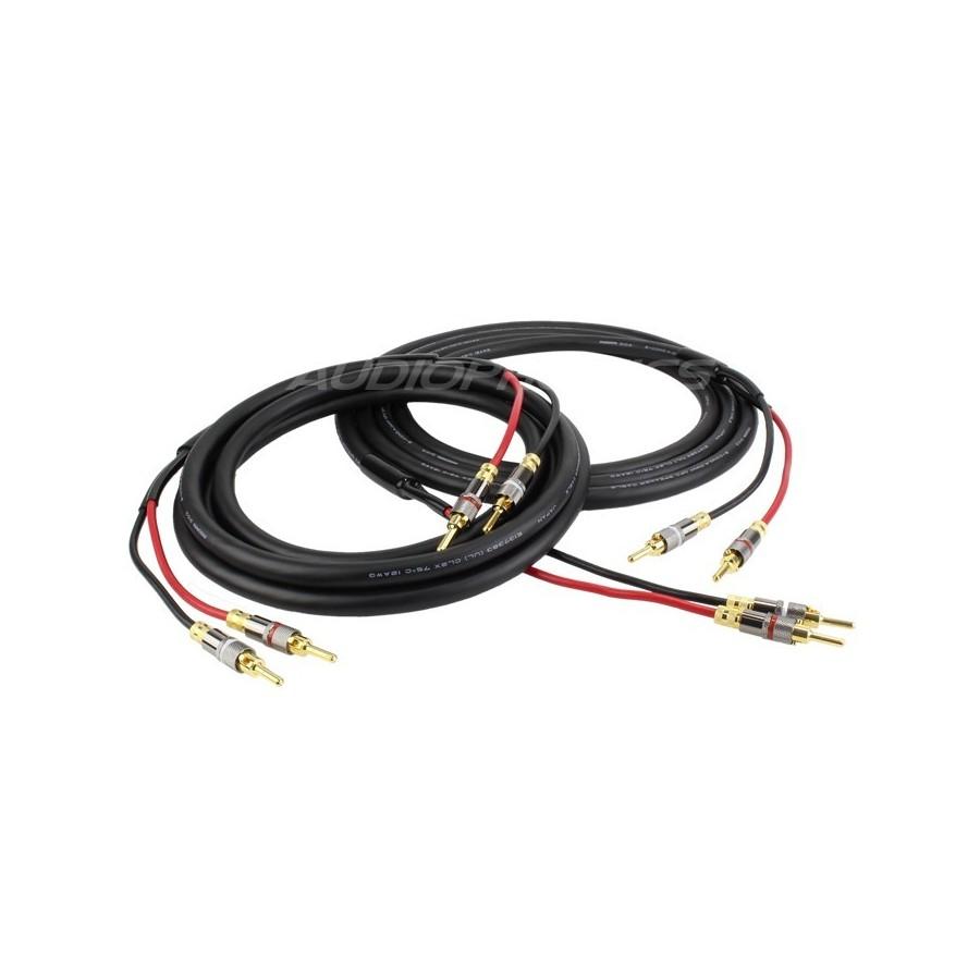 MOGAMI 3103 High performance Speaker cable Kit 5m (Pair