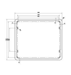 aluminium box for transformers 160x140x75mm  [ 900 x 900 Pixel ]