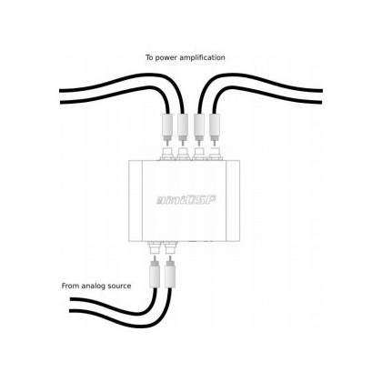 MiniDSP 2x4 Kit Audio USB processor Unbalanced 2 to 4