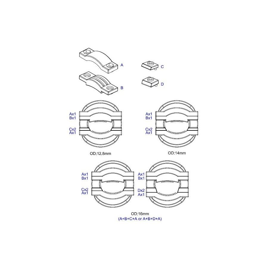 NEOTECH NC-P312RH Schuko Connector Rhodium plated UP-OCC