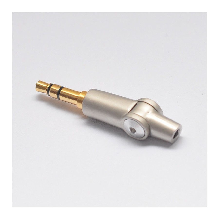 hight resolution of  jack 3 5mm male articulated connector plug audio to solder
