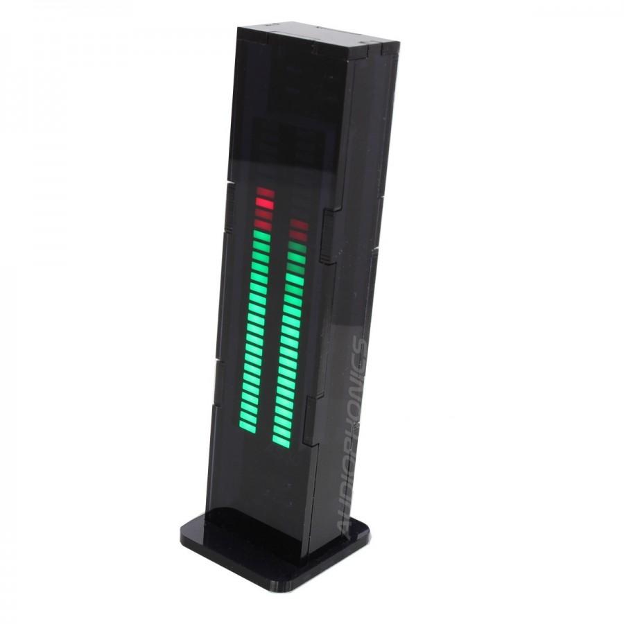 Audio Level Meter With 8 Leds Indicator Audio Circuit