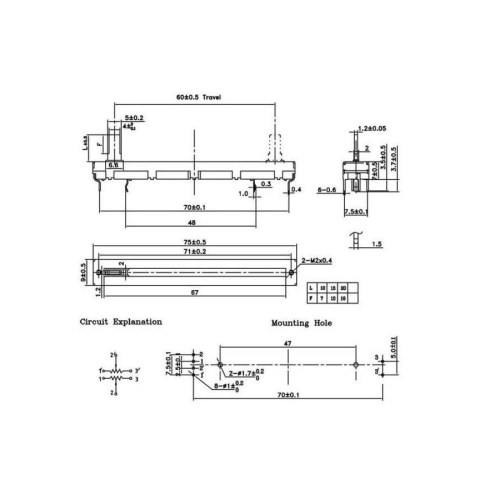 small resolution of linear potentiometer wiring diagram wiring diagram blog linear potentiometer wiring diagram
