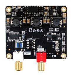 allo boss dac pcm5122 32bit 384khz with 2 clocks master clock i2s  [ 900 x 900 Pixel ]