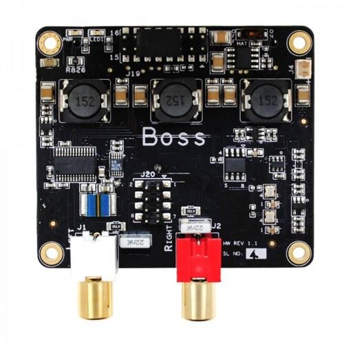 small resolution of allo boss dac pcm5122 32bit 384khz with 2 clocks master clock i2s