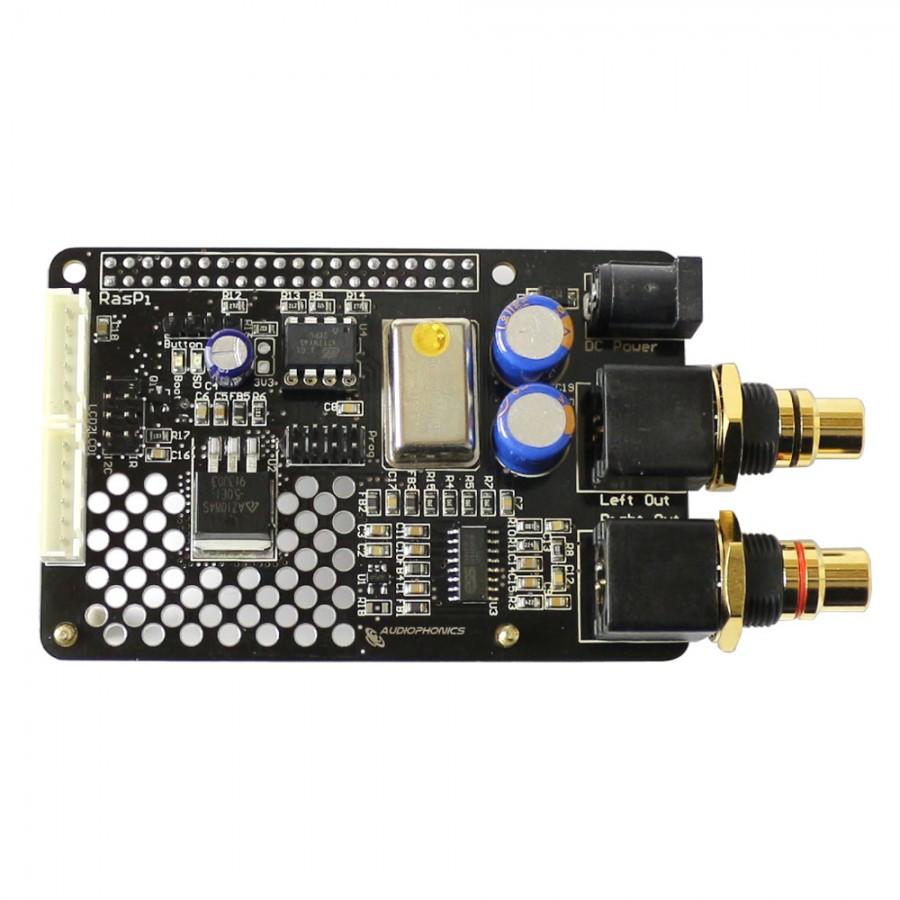 medium resolution of audiophonics i sabre dac es9023 v3 tcxo raspberry pi 2 0 a b i2s