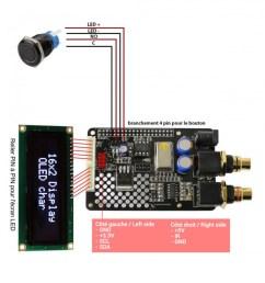 audiophonics i sabre dac es9023 v3 tcxo raspberry pi 2 0 a b i2s [ 900 x 900 Pixel ]