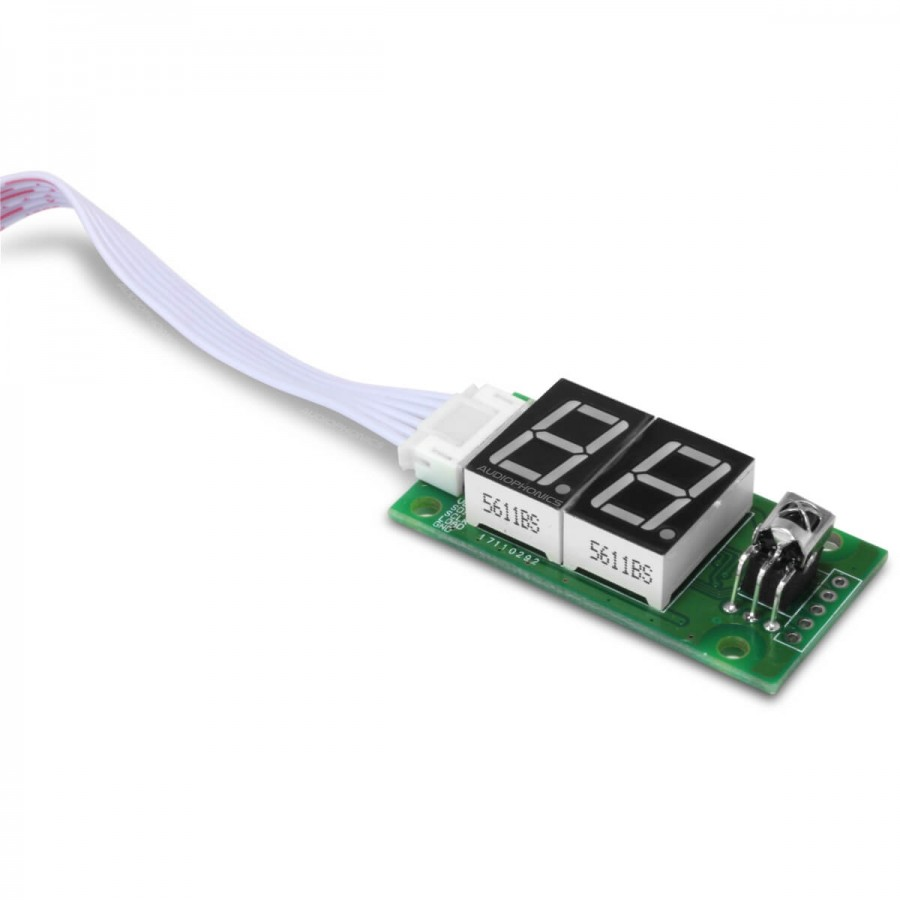 hight resolution of  volume control module with potentiometer display and remote control